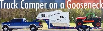 truck cer gooseneck trailer