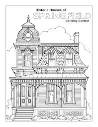 arts crafts houses coloring book house coloring book pages outstanding