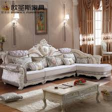 antique living room furniture sets. luxury l shaped sectional living room furniutre antique europe design classical corner wooden carving fabric sofa furniture sets h