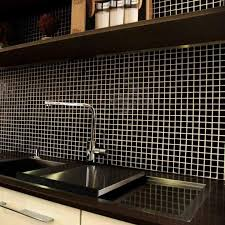 Mosaic Wall Tiles Are At Their Most Dramatic With These Glossy Black Mosaic  Tiles. Ideal As Mosaic Kitchen Wall Tiles Or For Stylish Bathroom Designs.