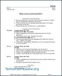 Download Fresh What Should A Resume Include B4 Online Com