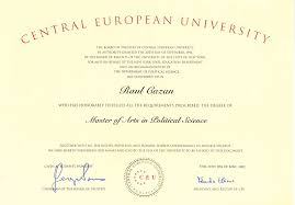 non governmental association raul cazan diploma master of arts in political science central european university budapest by the board of regents of the state university of new york