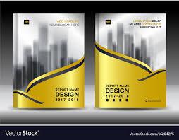 Design Brochure Template Brochure Template Layout Gold Cover Design Flyer