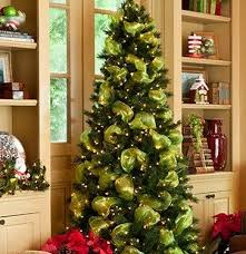 ... Strikingly How To Decorate Christmas Tree With Mesh Cosy Decorations  Ribbons Happy Holidays ...