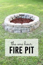 easy diy fire pit easy diy area y20 area