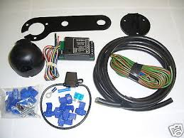 jaguar s type single 7 pin electric towbar wiring kit including variant attributes