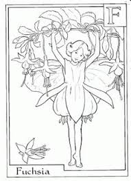 Garden Fairy Coloring Pages At Getdrawingscom Free For Personal