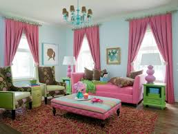 living room curtains design ideas 2016 fairytale is embod in the colorful pink and turquoise
