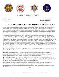 Media Advisory Storm Media Advisory Sylmar Neighborhood Council