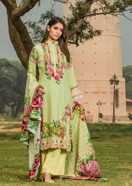 New Dress Design Collection 2018 Firdous Fashion Paris Linen 2018 Collection With Price