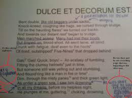 decorum quotes quotesgram dulce et decorum est pro patria mori follow us