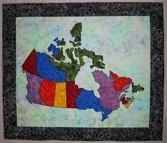 Best 25+ Quilts canada ideas on Pinterest   Canada birthday ... & Canada Patchwork Map Quilt Adamdwight.com
