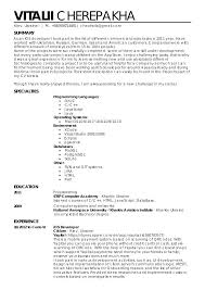 The Best Resume Ever Topic Related To Best Resume Formats Templates ...