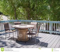 deck patio with fire pit. Beautiful Pit Patio Table With Fire Pit And Chairs On Deck Throughout Deck With Fire Pit I