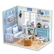 dollhouse furniture diy. Beautiful Dollhouse Doll House Diy Miniatura Wooden Dollhouses Furniture Miniature Dollhouse 3D  Puzzles Toy Model Kits Toys Birthday Throughout U
