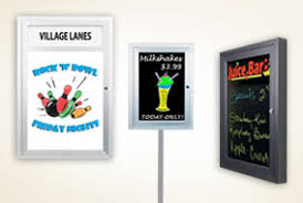 Free Standing Display Board Outdoor Display Cases Com Offers The Widest Selection Outdoor 61