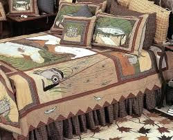 rustic style bedding fishing theme quilt bedding rustic lodge style bedding for the fisherman log cabin