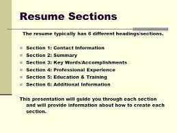 Additional Information On Resume Cool Resume Tutorial Before You Create Your Resume Brainstorm Why An