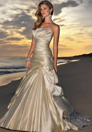 quench your fashion thirst with champagne colored wedding dresses