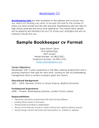 full charge bookkeeper cover letter sample company resume bookkeeper resume examples