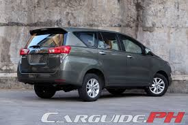 2018 toyota innova philippines. exellent 2018 review 2016 toyota innova 28 v  carguideph  philippine car news  reviews features buyeru0027s guide and prices with 2018 toyota innova philippines p