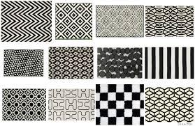 black white geometric rug where to bold black and white rugs