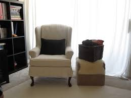 awesome design wing ikea chair covers furniture accessories aprar elegant cream nuance of the ikea wing chair covers that has white curtains design can