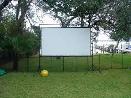 diy screen outdoor theater diy projector screen paint mix