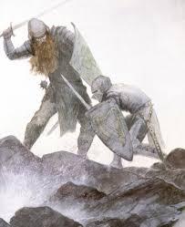 morholt fights tristan