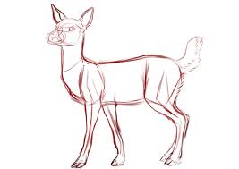 Collection Of Free Drawing Deers Easy Download On Clipart 4biz