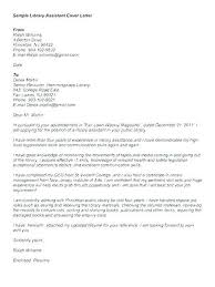 Cover Letter For Library Position Sample Library Director Resume