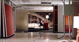 roger sterling office. mad men film gif roger sterling office