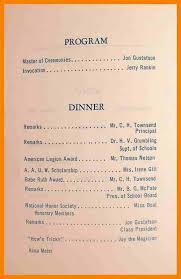 Banquet Program Examples Banquet Program Template Inspirational Sample Programs Well