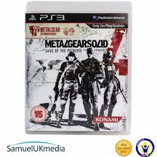 Metal Gear Solid 4 25th Anniversary Edition Ps3 Great