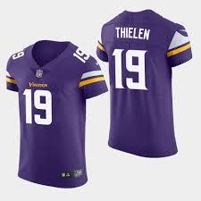 - Purple Vikings Jersey Elite Thielen Adam Men's