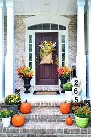 front door decorating ideas37 Fall Porch Decorating Ideas  Ways to Decorate Your Porch for Fall