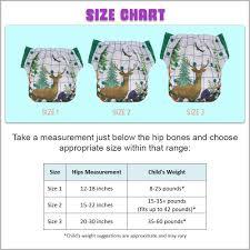 3 In 1 Hybrid Cloth Diaper 3 Pack Training Pants Or Swim Diaper Newborn Baby To 10 Years