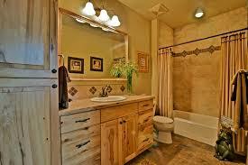 rustic stone bathroom designs. 1 tag rustic full bathroom with high ceiling, tiled wall showerbath, flush, european cabinets,. user2565692 · home design ideas stone designs s