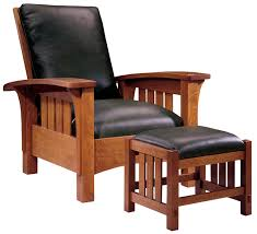 Morris Bedroom Furniture Stickley Furniture Classic Bow Arm Morris Chair Ottoman The