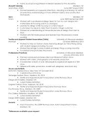 melissa farrar resume - Seamstress Resume Sample