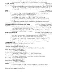 melissa farrar resume - Seamstress Resume