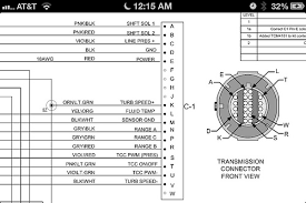 trans swap from 2010 to chevy performance trans it s a pcs controller so i went to their site and found the wiring diagram for the connector