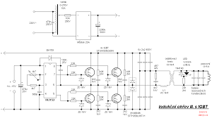 induction heating iii igbt the schematic diagram of the induction heater igbt s