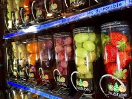 Fruit Vending Machines Extraordinary Takeaway Fruit Vending Machines YouTube