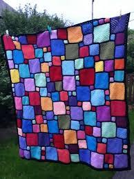 Best 25+ Patchwork blanket ideas on Pinterest | Quilt patterns ... & Ravelry: nittynora's Roger's blockwork blanket - No Pattern. Adamdwight.com