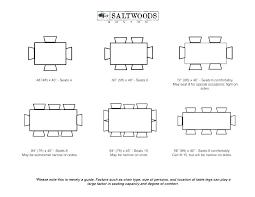 Standard Seating Chart Size Hauteur Table Standard Cuisine Dimension Dimensions Dime