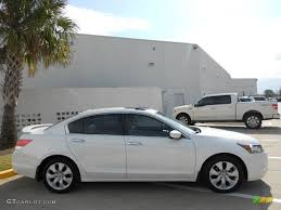 White Diamond Pearl 2008 Honda Accord EX-L V6 Sedan Exterior Photo ...