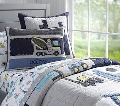 Construction Quilt | Pottery Barn Kids & Construction Quilt Adamdwight.com