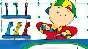 a day with caillou educational learning games and toys to play for kids children s