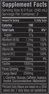 monster can nutrition facts. Exellent Nutrition Monster Energy With Can Nutrition Facts